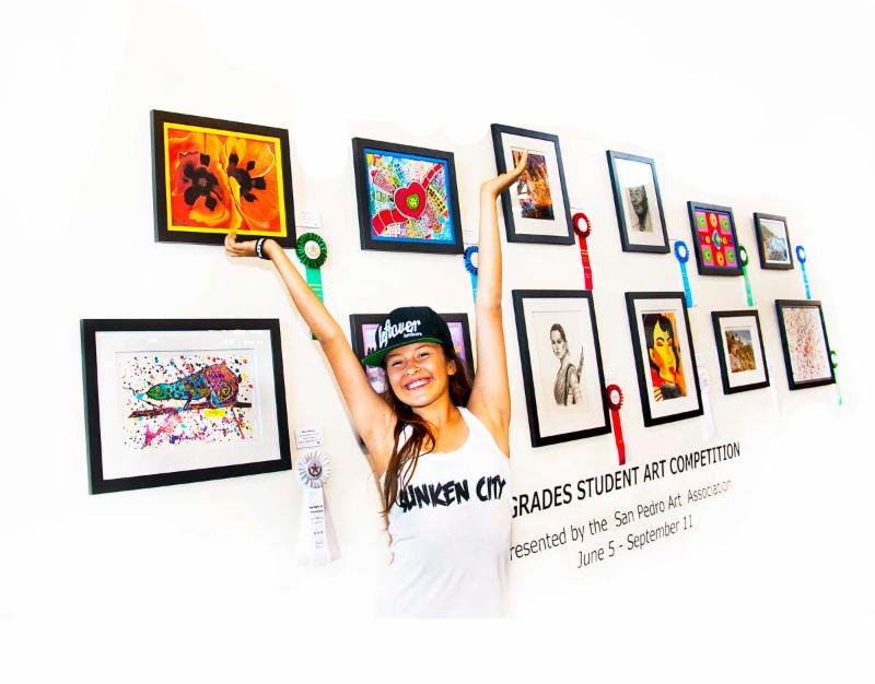 Calendar Art Competition : Harbor wide student art competition show closes