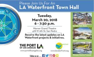 LA Waterfront Town Hall 03-20-18