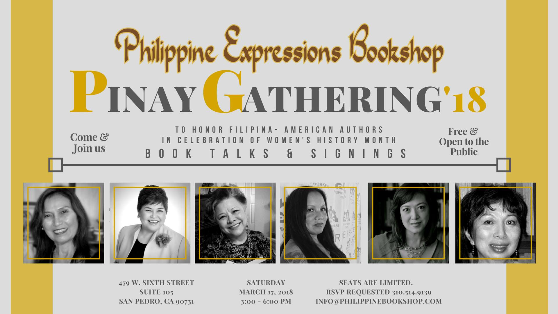 Philippine Expressions Bookshop event
