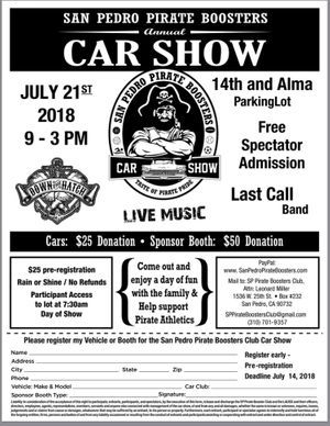 S P H S Car Show 2018
