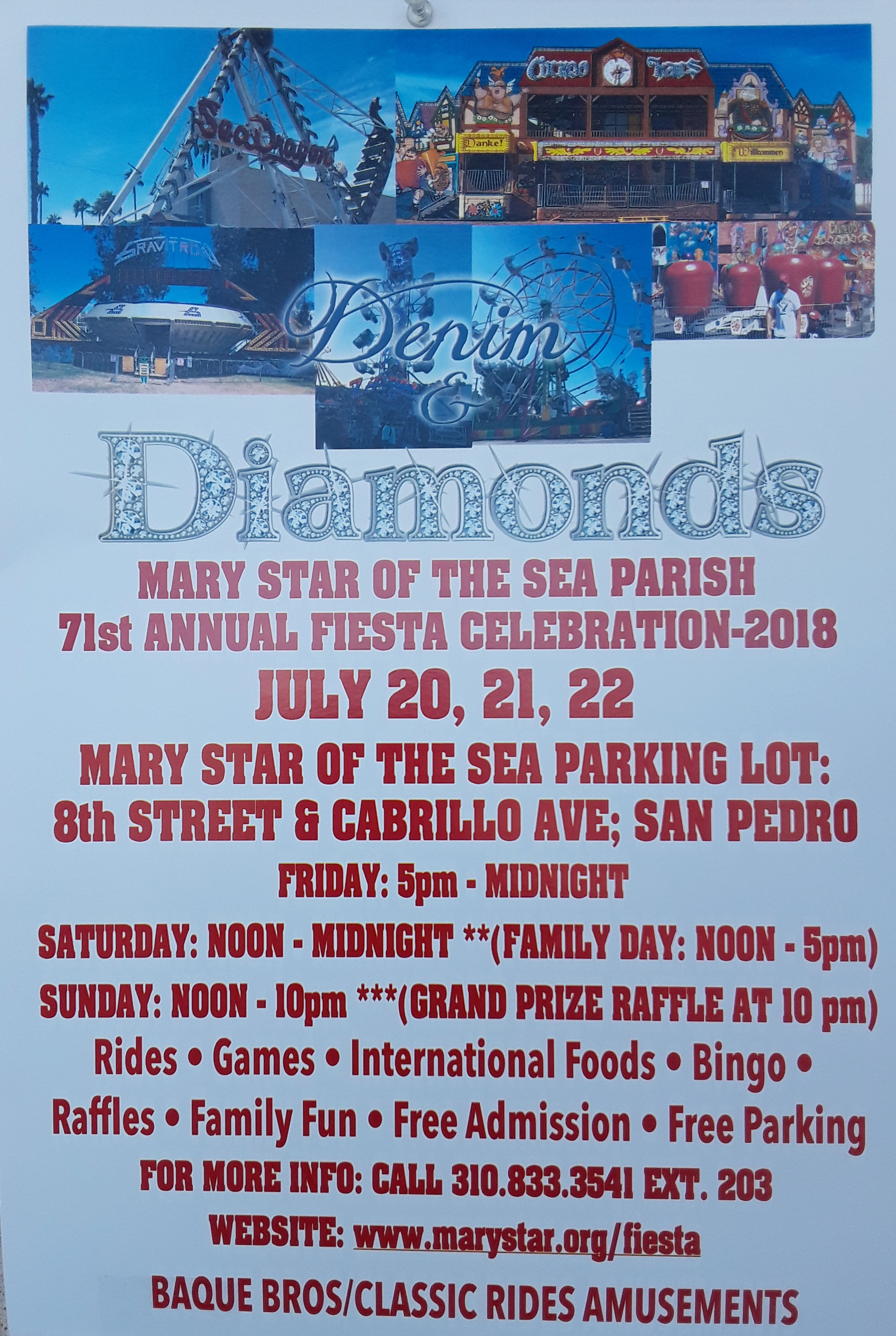 Mary Star Fiesta 2018