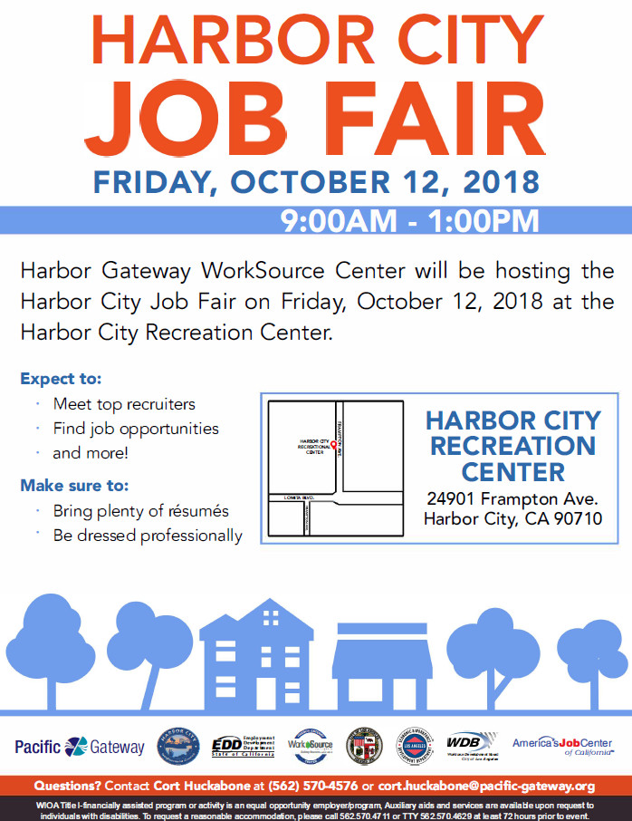 Harbor City Job Fair