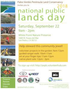 National Public Lands Day 2018