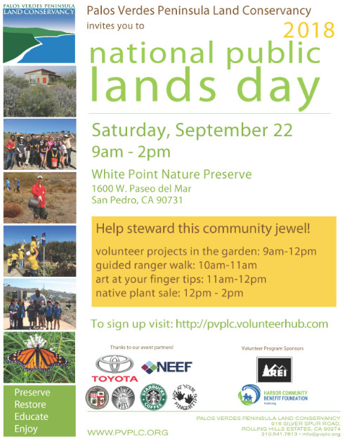 National Public Lands Day 2018