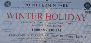 Point Fermin Holiday event