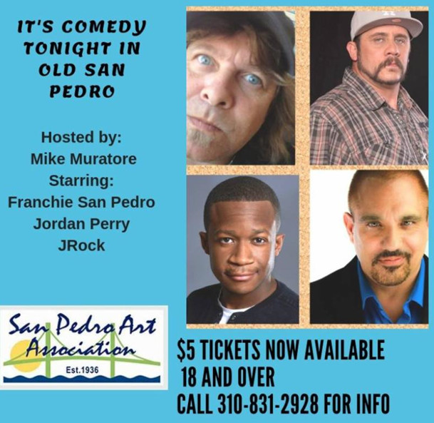 Image of: Vase Comedynight11819 Indiewire Its Comedy Tonight In Old San Pedromachine Art Studio San Pedro