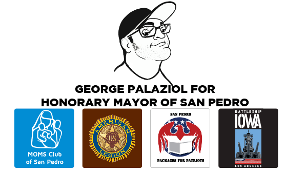 George Palaziol for Honorary Mayor of SP-2019