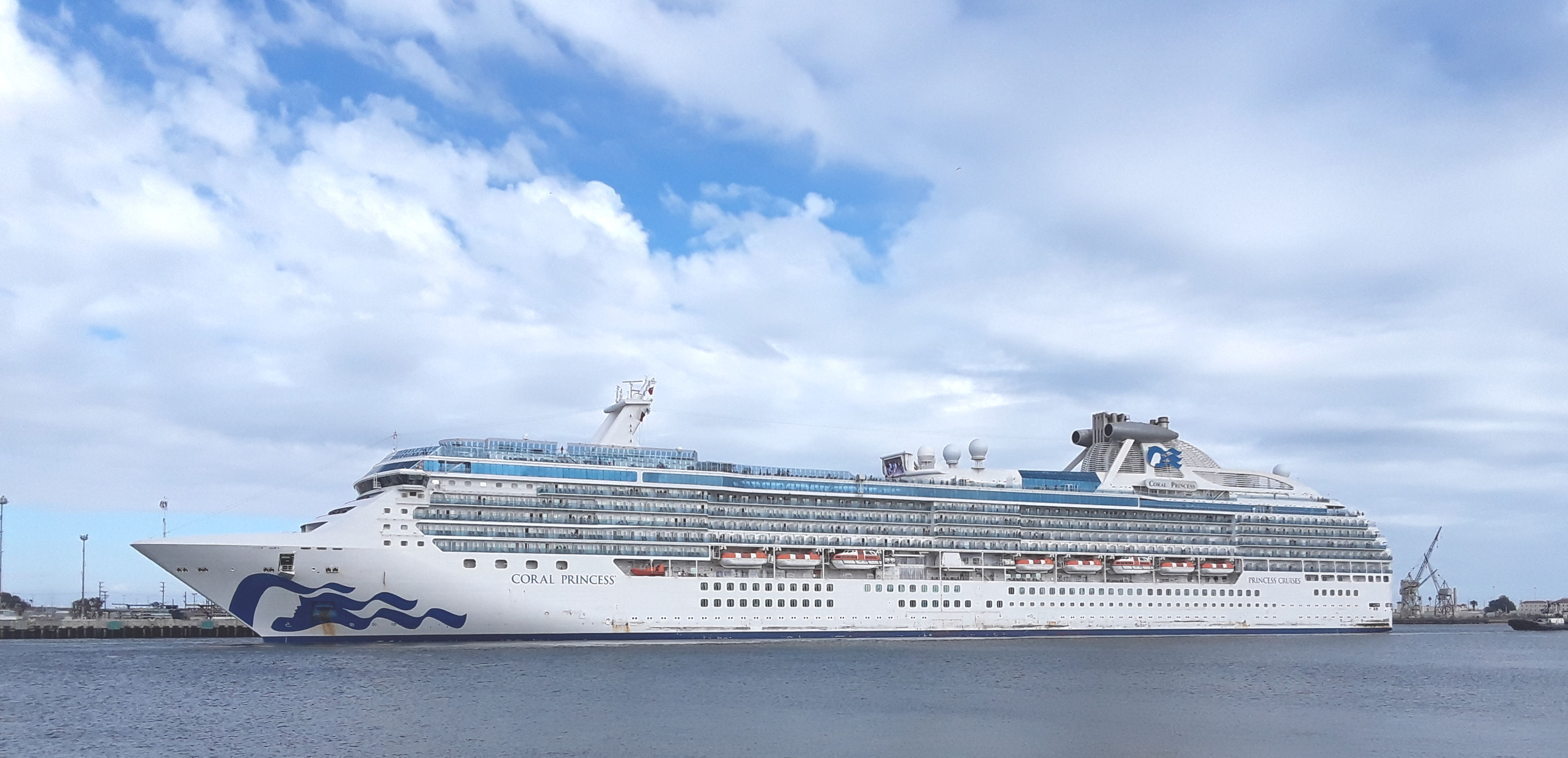 Coral Princess Main Channel 5-5-19