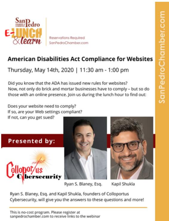 ADA Compliant Info Flyer
