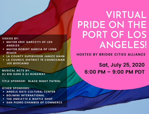 Pride on the Port of Los Angeles Flyer-2020