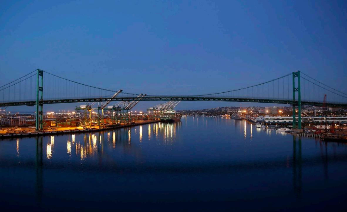 Vincent Thomas Bridge Los Angeles