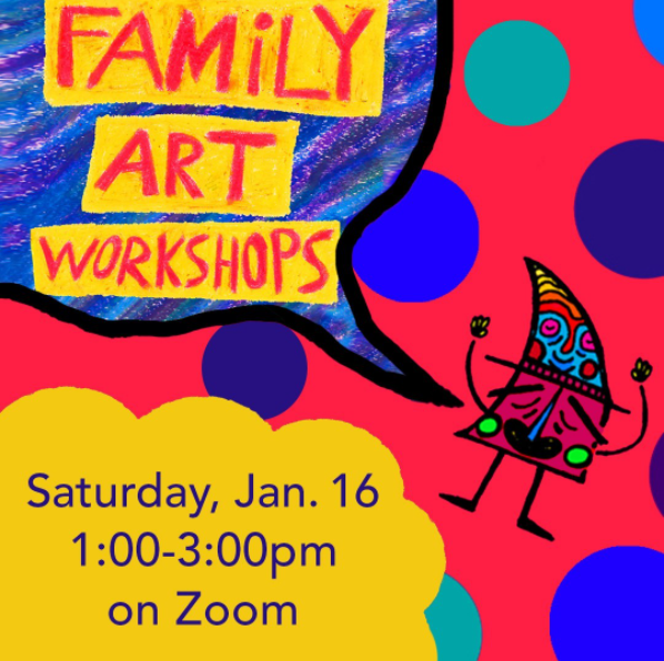 Angels Gate Cultural Center Family Art Workshop
