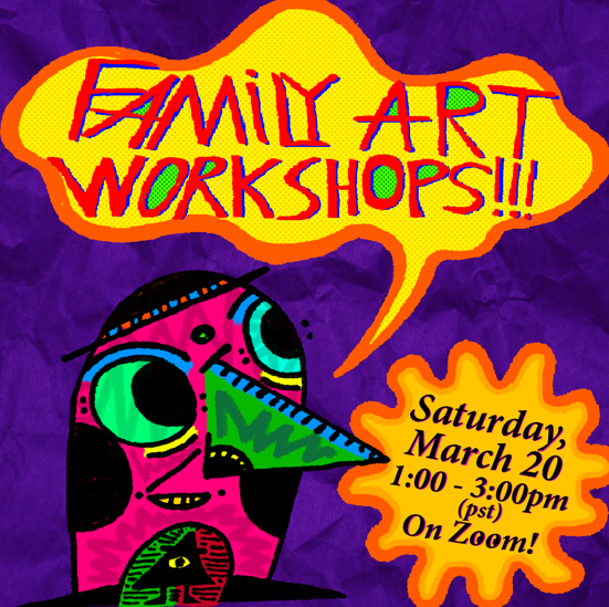 Family Art Workshops-3-20-21