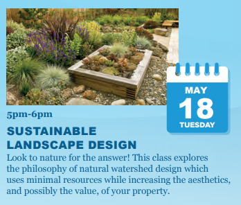 Sustainable Landscape Design Virtual Class