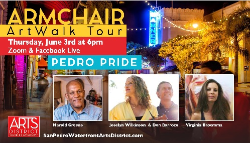 6-3-21 Armchair ArtWalk tour 1st Thursday