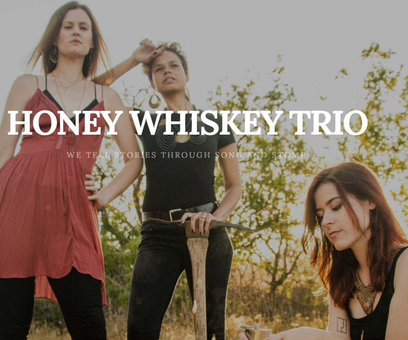 Honey Whiskey Trio Group Photo