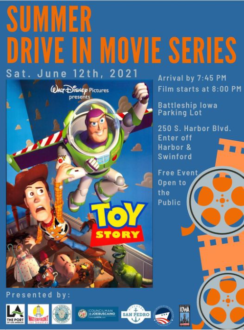 """Showing of the Movie """"Toy Story"""" at the Battleship Iowa"""