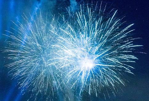 Cabrillo Bch Fireworks