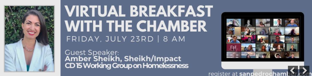 Virtual San Pedro Chamber Breakfast