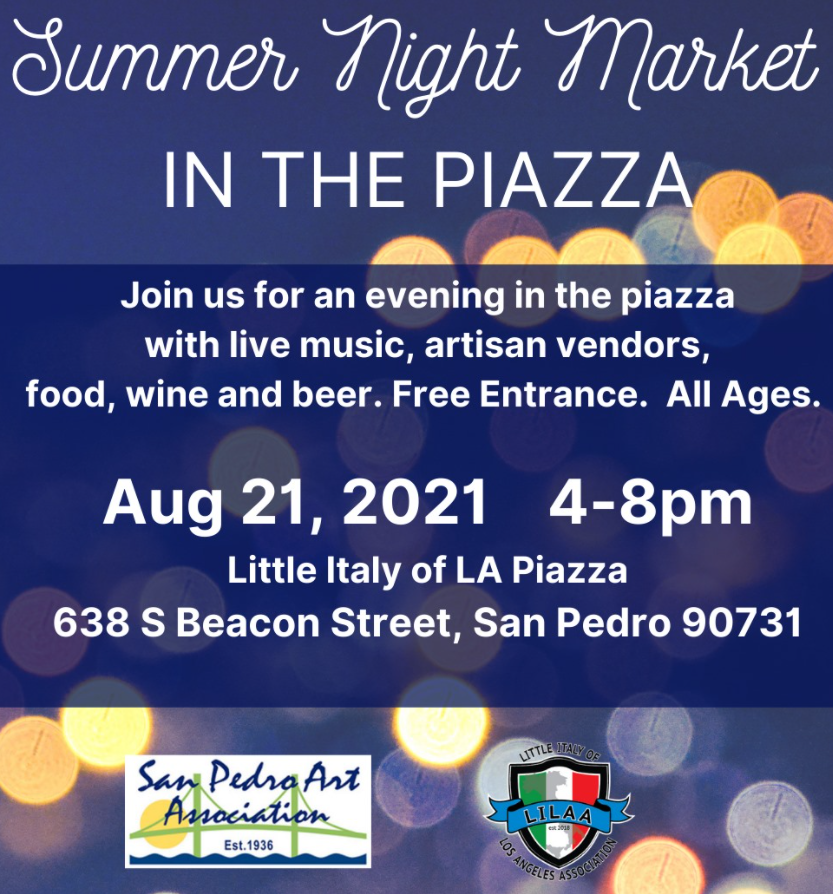 Summer Night Market at the Piazza