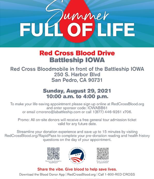 Iowa-Red-Cross blood Drive