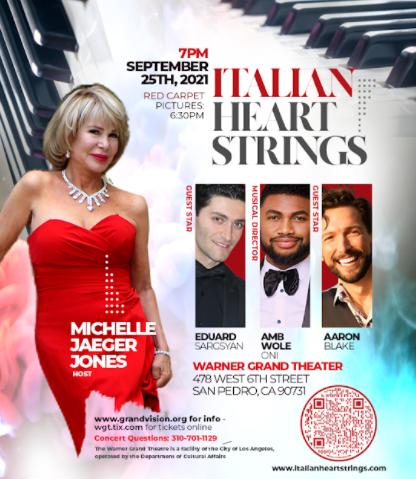 Italian Heart Strings /Michelle Jaeger Jones-Warner Grand