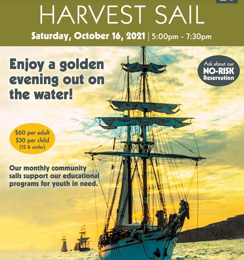 Harvest_Sail_10-16-21 Los Angeles Maritime Institute